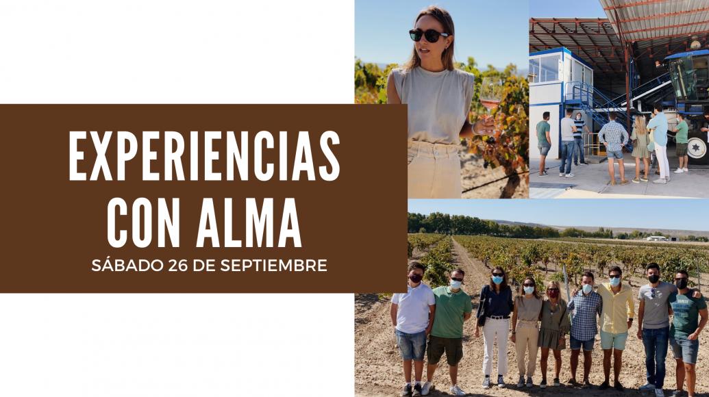 EXPERIENCIAS CON ALMA - 26 de Septiembre