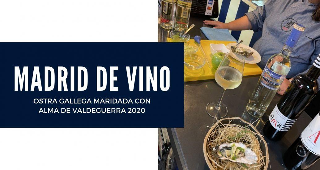 ALMA DE VALDEGUERRA EN MADRID DE VINO 2020