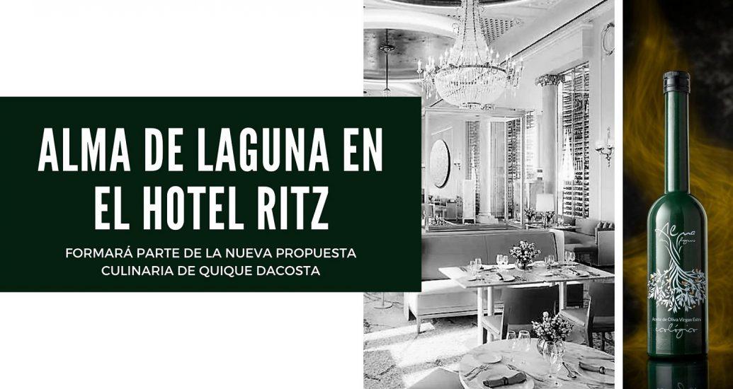 ALMA DE LAGUNA EN EL HOTEL RITZ